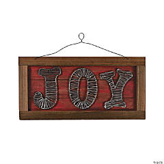 Joy Wall Sign
