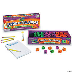 Juego de Palabras Spanish Reading Rods® Word Game