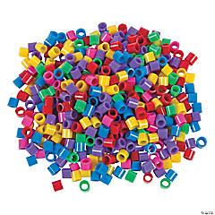 Jumbo Bright Cylinder Beads