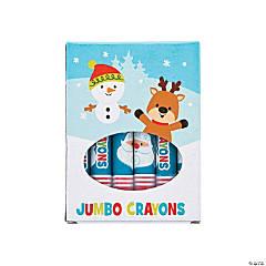 Jumbo Christmas Crayons