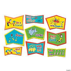 Jumbo Dr. Seuss™ Classroom Rules Cutouts
