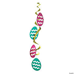 Jumbo Easter Egg Hanging Swirls