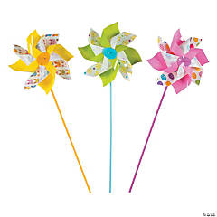 Jumbo Easter Pinwheels