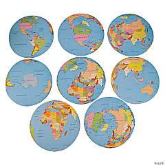 Jumbo Globe Cutouts