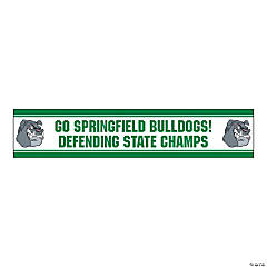 Jumbo Green Custom Photo Stadium Banner
