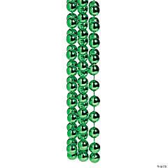 Jumbo Green Spirit Bead Necklace