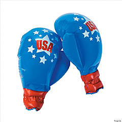 Jumbo Inflatable Patriotic Boxing Gloves