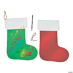 Jumbo Magic Color Scratch Stockings