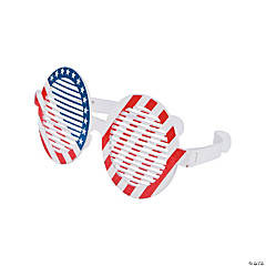 Jumbo Patriotic Shutter Glasses - 12 Pc.