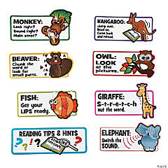Jumbo Reading Strategy Mini Bulletin Board Set