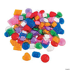 Jumbo Self-Adhesive Glitter Jewels