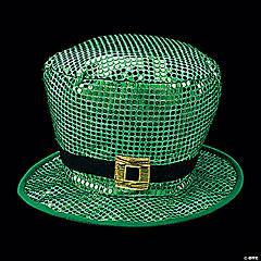 Jumbo Sequin St. Patrick's Day Leprechaun Hat