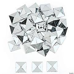 Jumbo Silver Studded Adhesive Jewels