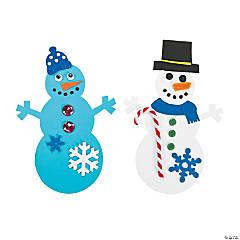 Jumbo Snowman Shapes