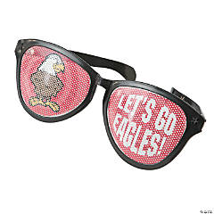Jumbo Team Spirit Custom Photo Pinhole Glasses