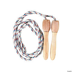 Jump Ropes with Wooden Handles