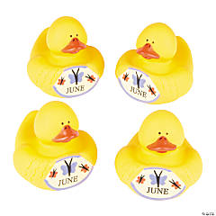 June Rubber Duckies