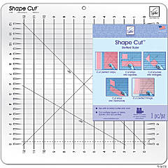 June Tailor Shape Cut Ruler, Slot Ruler 16