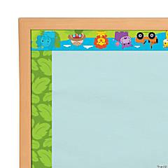 Jungle Bulletin Board Borders