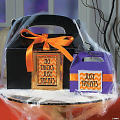 Just Treats, No Tricks Gift Box Idea