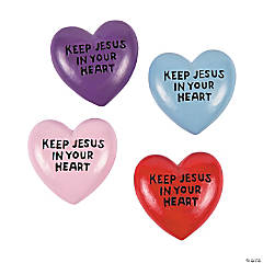 Keep Jesus in Your Heart Worry Stones