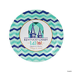 2015 Kentucky Derby Dinner Plates