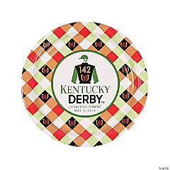 2016 Kentucky Derby Dinner Plates