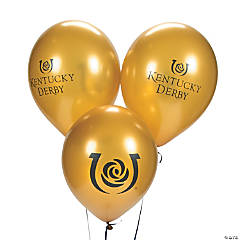 Kentucky Derby Latex Balloons