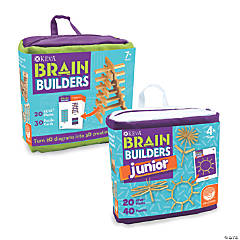 KEVA Brain Builders and Brain Builders Junior: Set of 2