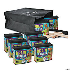KEVA Brain Builders: Classroom Pack Set of 8