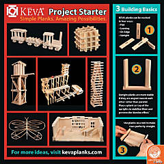 KEVA Building Idea Cards: Set of 4