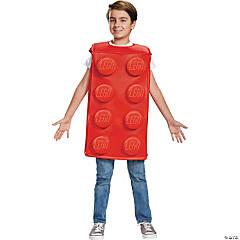 Kid's Lego Red Brick Halloween Costume