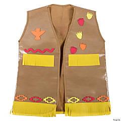 Kid's Native American Vest Craft Kit