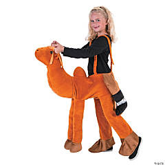 Kid's Plush Ride-a-Camel Costume