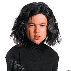 Kid's Star Wars™ Episode VIII: The Last Jedi Kylo Ren Wig with Scar Tattoo
