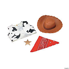 Kid's Woody Costume Accessories Kit