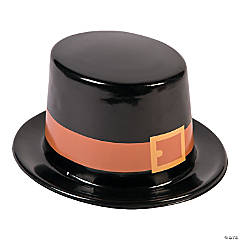 Kid's Thanksgiving Pilgrim Hat