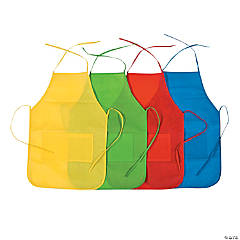 Kids' Aprons with Pockets