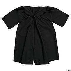 Kids' Black Matte Elementary School Graduation Robe