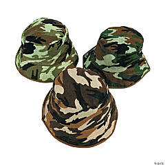 Kids'  Camouflage Bucket Hats