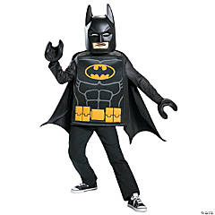 Kid's Classic LEGO Batman Costume - Medium