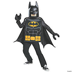 Kid's Classic LEGO Batman Costume - Small