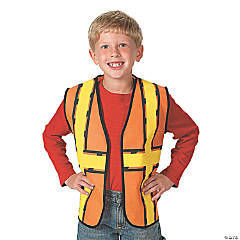 Kid's Construction Worker Vest
