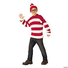 Kids' Deluxe Where's Waldo Costume