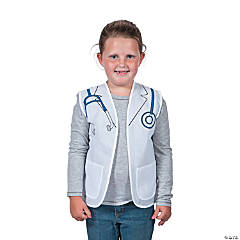 Kid's Doctor/Dentist/Veterinarian Vest Costume