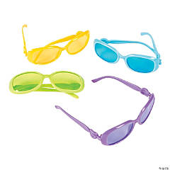 Kids Fashion Color Tinted Sunglasses