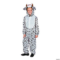 Kid's Full Body Cow Costume