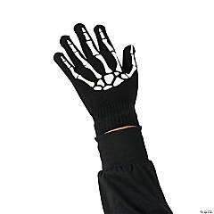 Kids' Glow-in-the-Dark Skeleton Gloves
