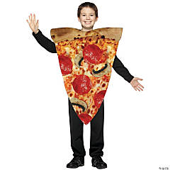 Kid's Pizza Slice Costume - Medium