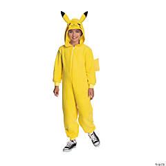 Kid's Pokemon™ Pikachu Hooded Jumpsuit Costume